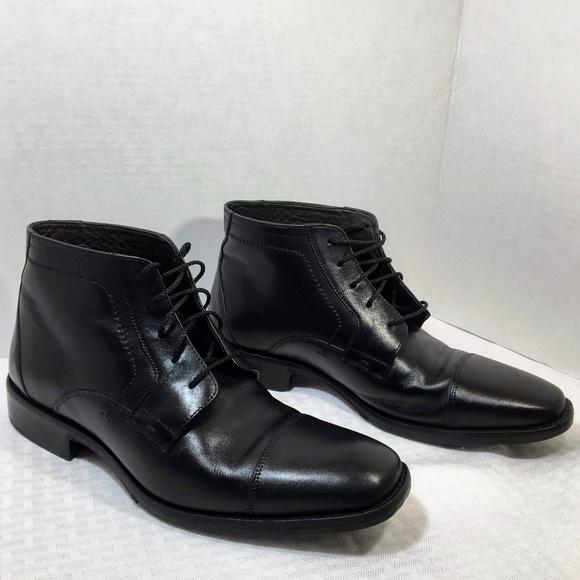 972142c3460 Johnston & Murphy Larsey Cap-Toe Lace-Up Boots